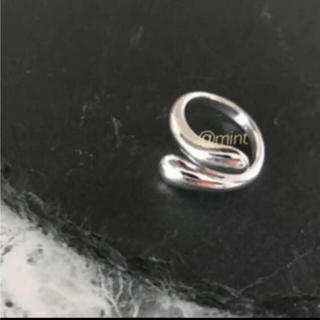 TODAYFUL - tear drop ring silver925