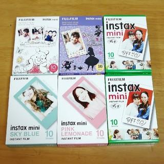 富士フイルム - instax mini film チェキ ミニ キャラクター フイルム 60枚