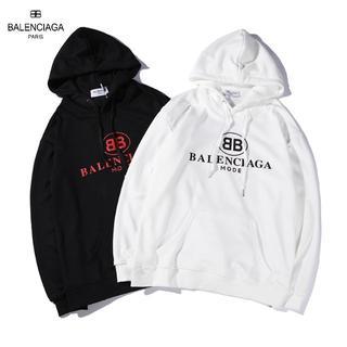 Balenciaga - 2枚9000円送料込み★BALENCIAGA★パーカー2色ユニセックス男女兼用★