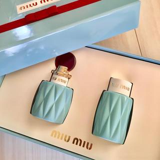 miumiu - ミュウミュウ 香水セット 箱付き