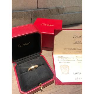 カルティエ(Cartier)のCartier K18証明書有り ラニエールリング10号(リング(指輪))
