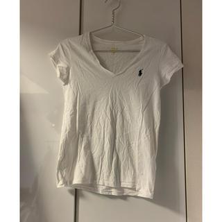 ポロラルフローレン(POLO RALPH LAUREN)のラルフローレン 白Tシャツ(Tシャツ(半袖/袖なし))