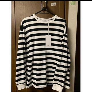 コモリ(COMOLI)のgraphpaper  グラフペーパー ボーダー(Tシャツ/カットソー(七分/長袖))