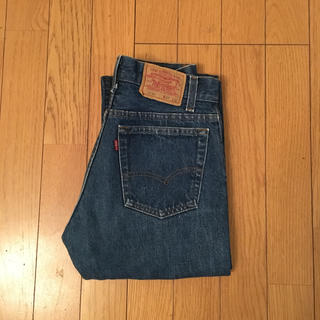 リーバイス(Levi's)のLevi's 701 マリリンモンローデニム ブルー アメリカ製 vintage(デニム/ジーンズ)