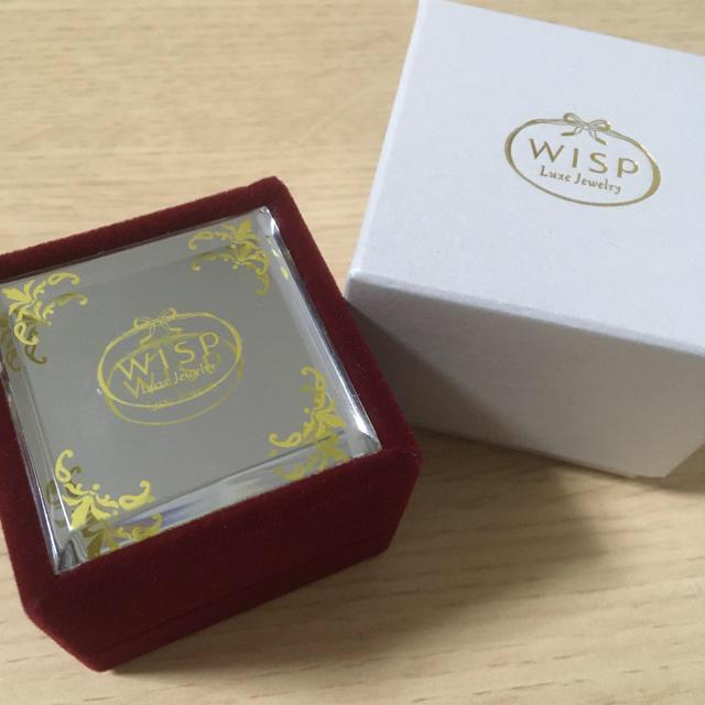 4℃(ヨンドシー)の☆美品・最終価格☆ WISP K10WG ドロップ型ネックレス シルバー レディースのアクセサリー(ネックレス)の商品写真