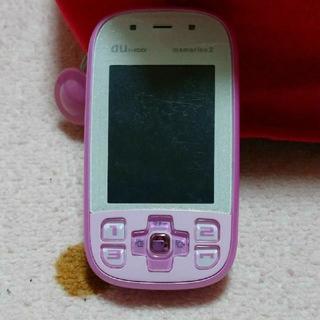 エーユー(au)の auキッズケータイ mamorino2(携帯電話本体)