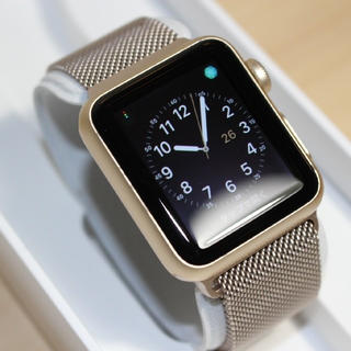 Apple - apple Watch series1 ゴールド