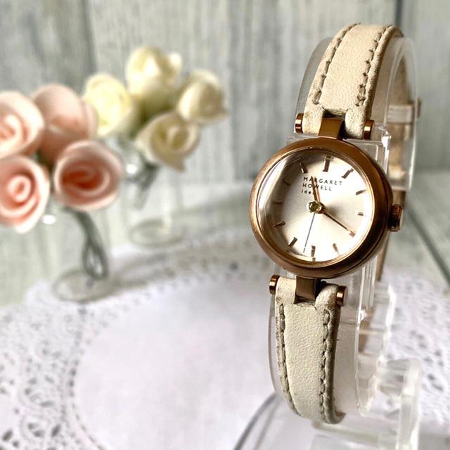 MARGARET HOWELL - 【電池交換済み】MARGARET HOWELL 腕時計 ピンクゴールド 1Pの通販