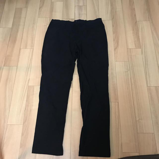 GU(ジーユー)のストレッチスリムイージートラウザー 黒L/GU メンズのパンツ(スラックス)の商品写真