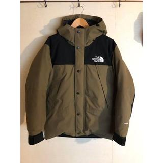 THE NORTH FACE - north face マウンテン ダウン ビーチグリーン