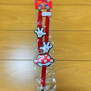 ディズニー(Disney)のミニーちゃん サスペンダー 新品 3歳〜14歳くらい(ベルト)