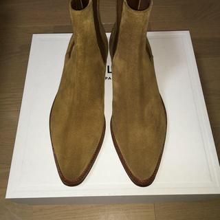 celine - CELINE カマルグ ブーツ ハバナ サイズ42