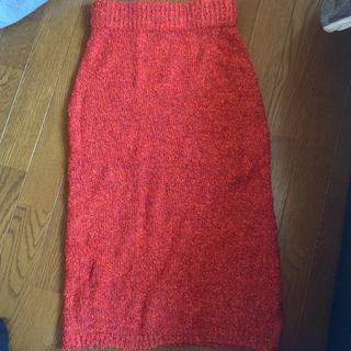スライ(SLY)のSLY ニットタイトスカート(ひざ丈スカート)