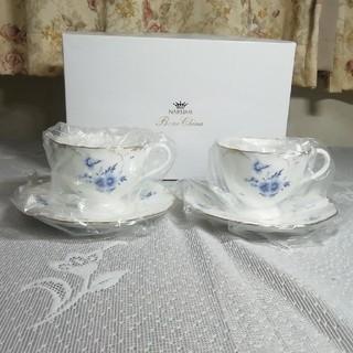 NARUMI - NARUMI ナルミ フィオリスタ ティーコーヒー兼用カップ&ソーサー ペア