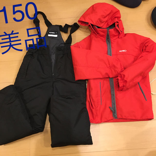 IGNIS - 美品 イグニオ スキーウェア スノーウェア 赤 150