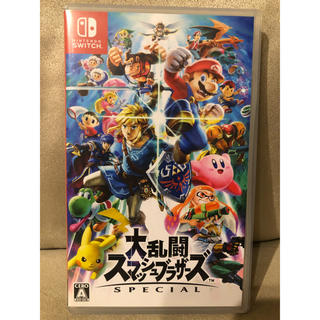 Nintendo Switch - 《スイッチ》美品 大乱闘スマッシュブラザーズ SPECIAL スマブラ