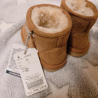 アンパサンド(ampersand)のアンパサンド ムートンブーツ 冬靴 13cm(ブーツ)