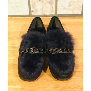 ディーホリック(dholic)のDHOLIC ファー付きローファー(ローファー/革靴)