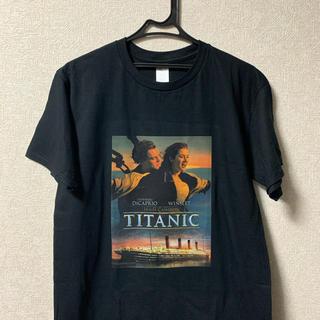 タイタニック Tシャツ 黒