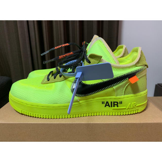 NIKE - off-white THE 10 NIKE AIR FORCE 1 LOW
