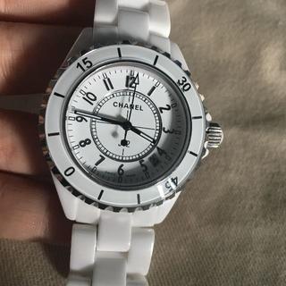 CHANEL - シャネル 腕時計 j12 ホワイト メンズ用 38mm