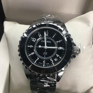 CHANEL - シャネル 腕時計 j12 女性用 ブラック 33mm