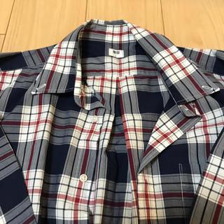 UNIQLO メンズ チェックシャツ