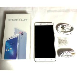 ASUS - 【美品】Zenfone 3 Laser ZC511KL ASUS シルバー