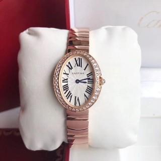 Cartier - レディースウォッチ ピンクゴールド ダイヤ