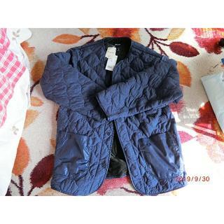 ビームス(BEAMS)の新品未使用ビームス襟なし中綿キルティングジャケット(ノーカラージャケット)