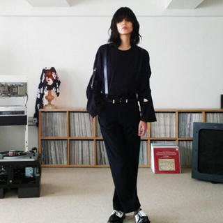 SUNSEA - 求 SUNSEA teketeke Pants テケテケパンツ ブラック