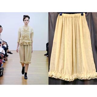 コムデギャルソン(COMME des GARCONS)の2012SS コムコム コムデギャルソン チュールスカート(ひざ丈スカート)