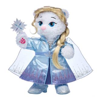 アナトユキノジョオウ(アナと雪の女王)のビルドアベア アナ雪2 エルサのベアぬいぐるみ一式(ぬいぐるみ)