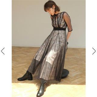 フレイアイディー(FRAY I.D)の新品 フレイアイディー    チュールアンドレース ドレス ワンピース(ロングワンピース/マキシワンピース)