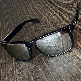 Oakley - 【日本未発売】★オークリー ホルブルック★クローム イリジウム 偏光 サングラス