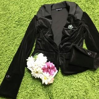 FOXEY - 美品フォクシー 女優襟ジャケット