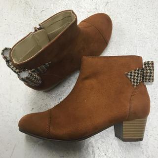 ムーンスター(MOONSTAR )のブーツ 21cm  未使用品(ブーツ)