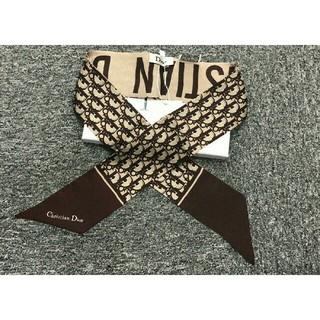クリスチャンディオール(Christian Dior)のDior  ディオール スカーフ 美品 レディース (バンダナ/スカーフ)