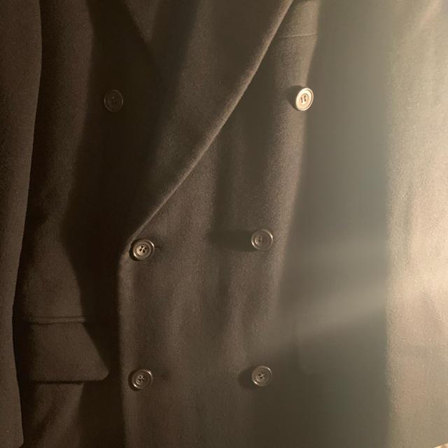 LAD MUSICIAN(ラッドミュージシャン)のVintage ダブルロングコート 古着 ladmusician メンズのジャケット/アウター(チェスターコート)の商品写真