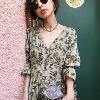 Ameri VINTAGE - Ameri vintage CAROLINE RETRO DRESS