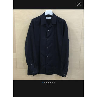 COMOLI - Graphpaper // Broad Open Collar Shirt