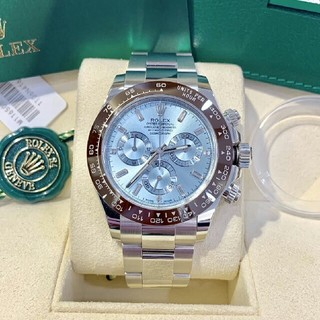 PATEK PHILIPPE - デイトナ プラチナ アイスブルー腕時計