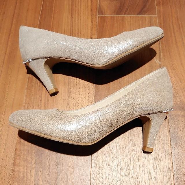 ORiental TRaffic(オリエンタルトラフィック)のオリエンタルトラフィック 7cmヒール パンプス 結婚式 レディースの靴/シューズ(ハイヒール/パンプス)の商品写真