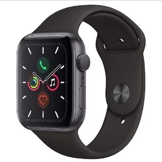 Apple Watch - Apple Watch Series 5(GPSモデル)- 44mmスペースグレ