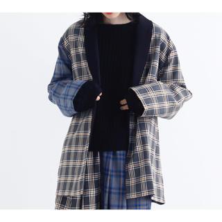 メルロー(merlot)の【新品】merlot チェックジャケット(テーラードジャケット)