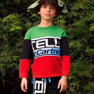 ステラマッカートニー(Stella McCartney)の新品未使用タグ付き ステラマッカートニー キッズ 2歳 スウェット(Tシャツ/カットソー)