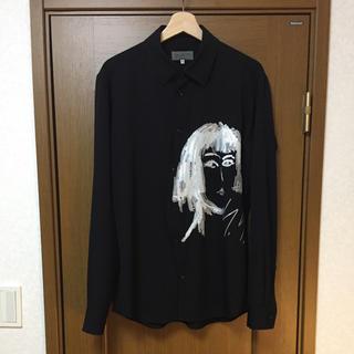 Yohji Yamamoto - ヨウジヤマモト プールオム 16aw 宮沢りえ ウールギャバ スパンコールシャツ
