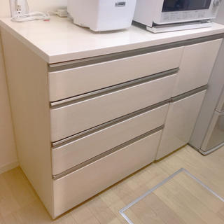 ニトリ - ニトリ キッチンカウンター 120