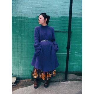 マザー(mother)のmother SONIA angora knit tunic(ニット/セーター)