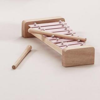 ザラホーム(ZARA HOME)の新品 Kids Concept キッズコンセプト シロフォン 楽器 ピンク(楽器のおもちゃ)